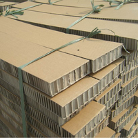 2018 hot sale high quality 100 - 1220 mm Width paper honeycomb core sandwich panel