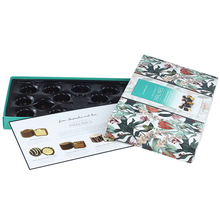 Custom Luxury Retail Paper Candy Packaging Truffle Packing Box Praline Chocolate Gift Packaging Box With CMYK Printing