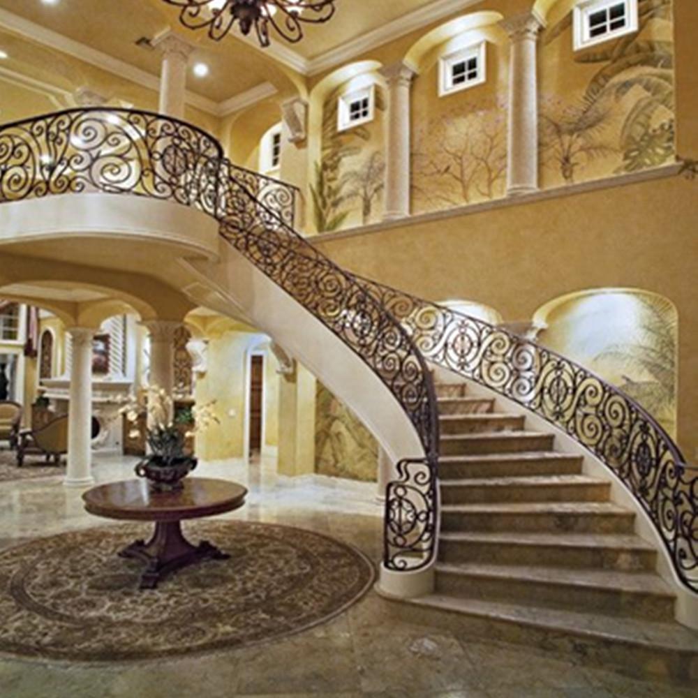 Luxury Stair Fancy Stairway Handrail