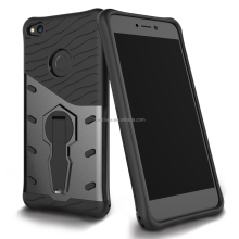 Anti shock kickstand tpu pc combo case for huawei P8 lite 2017/honor8 lite/nova lite/Gr3 2017