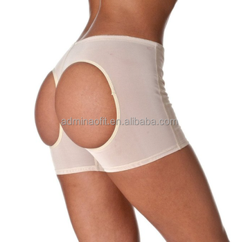 In Stock Women Butt Lifter With Adjustable Black Booty Thong Boyshort Panty