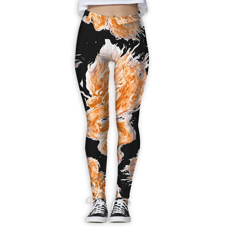 b8b31e3535 Get Quotations · DF4s Pants Fire Dragon Tie Dye Women Printed Sports Yoga  Pants Leggings Athletic Pants Fashion High