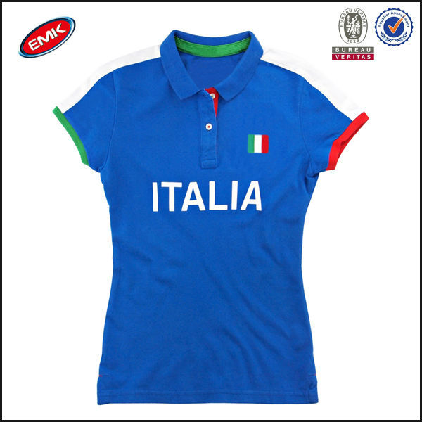 Latest Design Polo Shirt Printing Italia On The Chest Football Wear Polo  Shirt - Buy Latest Design Polo Shirt 78800b190f9c