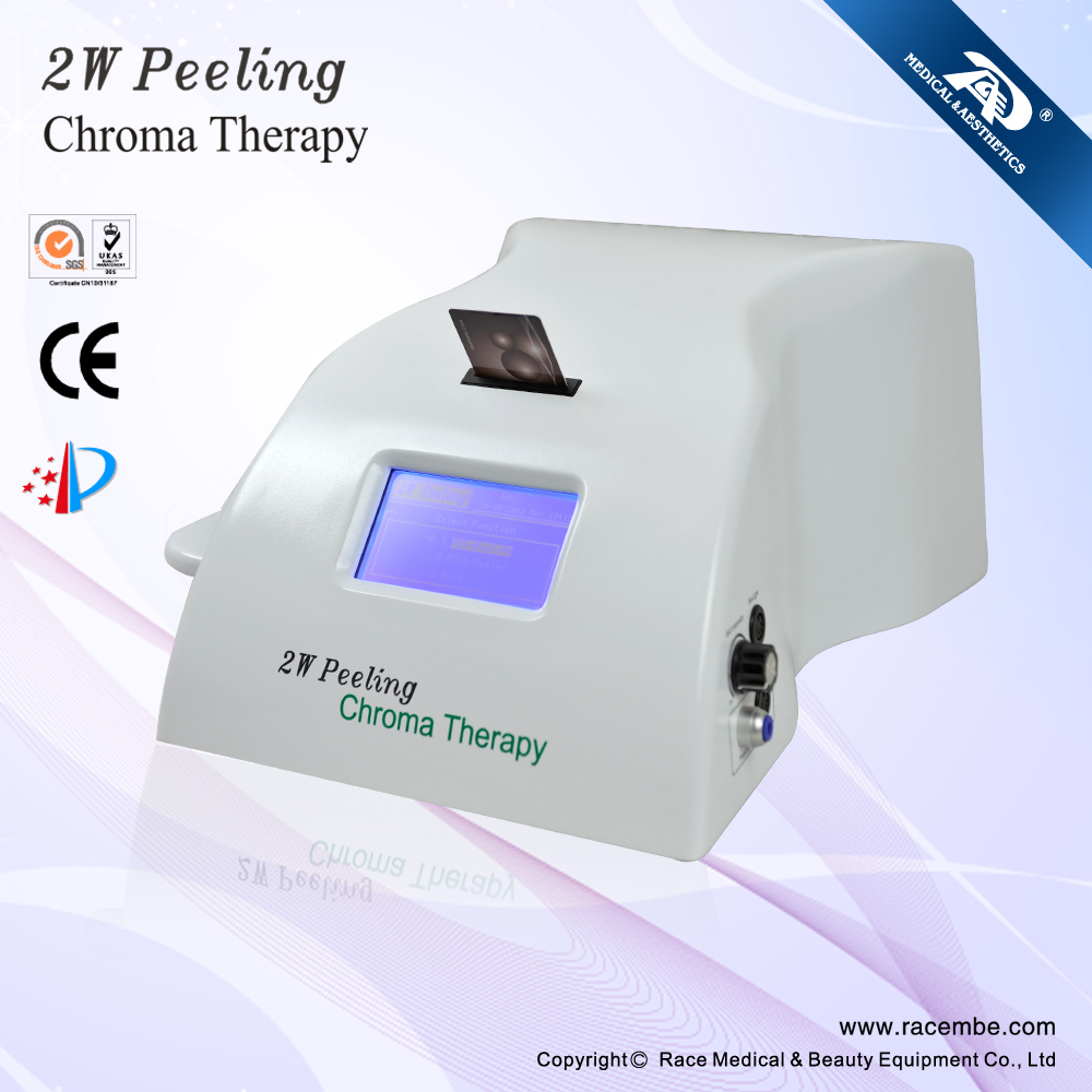 Latest BIO and diamond peeling skin beauty and clean appliance - 2W (CE, ISO13485 Since 1994)