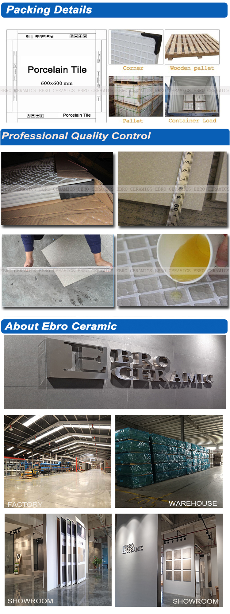 Ebro ceramic newest non slip slate look external outdoor floor tiles 45x90 45x45