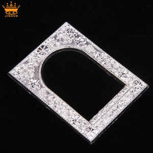 China supplier wholesale silver square bulk frames high quality decorative plastic mirror frames photo frame 10