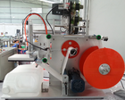 automatic flat labeling machine for plastic bottles /glass bottles