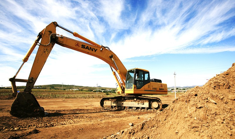 SANY SY245H 25 ton Earth Moving Construction Equipment Crawler rc Excavators for Sale