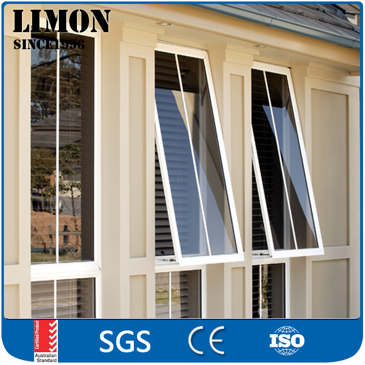 Easy handle cheap aluminum awning windows for house to keep the rain out