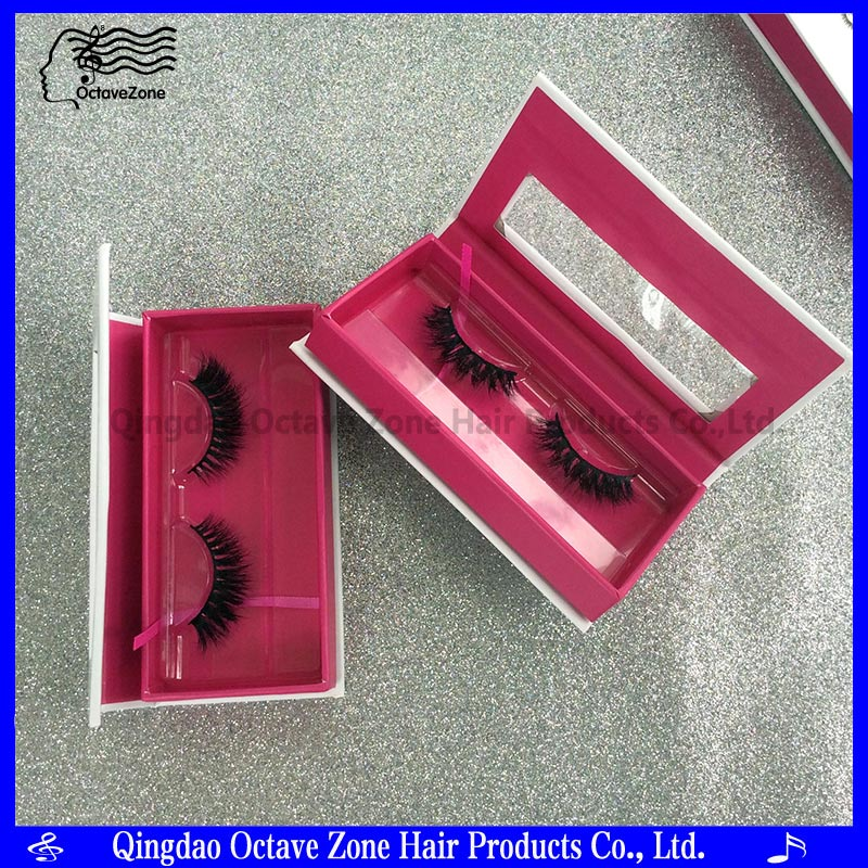2017 New Design High Quality 3d Mink Eyelashes 100% Siberian Fur Private Label Mink Strip Lashes