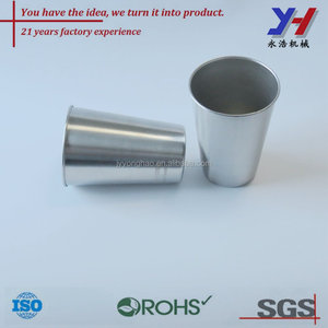 OEM ODM custom polished aluminum tea tumblers