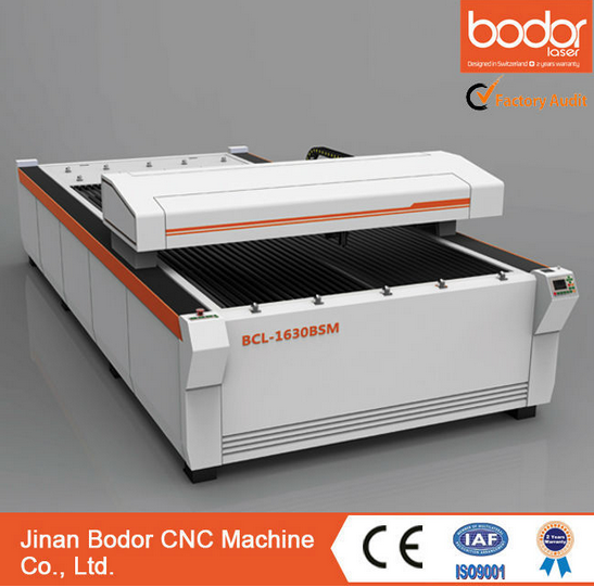 Ball Screw CO2 Metal non- metal Laser Engraving Cutting Machine 260W China Bodor BCL1325BSM