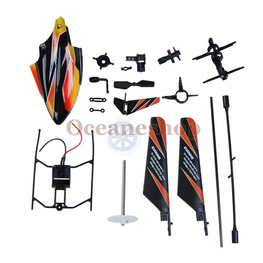 New Arrival 2.4GHz 4 Channels V911 RC Helicopter Spare Parts Helicopter Body