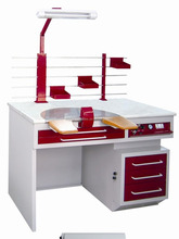 Dental Workstation Dental Lab Work Bench with Suction Unit