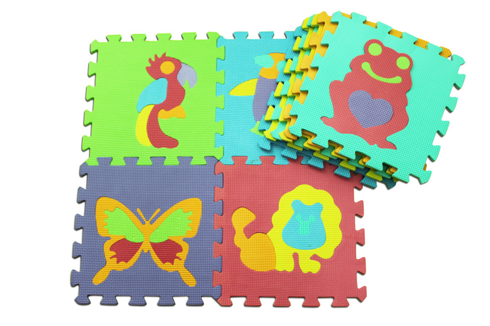 10pcs set 30 30cm Puzzle Carpet Baby Play Mat Floor Puzzle Mat EVA  Children s Foam Carpet Mosaic floor Developing Crawling Rugs 08851b8c67a21