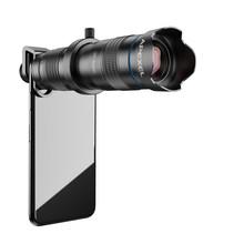 APEXEL оптический объектив для телефона HD 28X металлический телескоп объектив Монокуляр с мини штатив для селфи для iPhone 78 Xiaomi все смартфон(Китай)