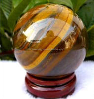new arrivals 100% 40mm natural tiger eye quartz crystal ball sphere for decoration