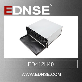 ED412H40 4U 12 bay hot swap OEM small size horizontal computer case