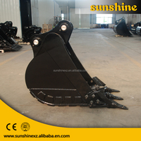 Professional manufacturer used mini excavator bucket for sale for digging soil