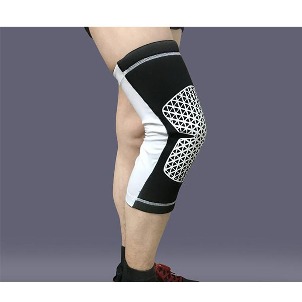 China supplier customized elastic knee sleeve cycling strech leg knee long sleeve