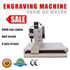 Assembled & tested well mini cnc engraving machine AMAN CNC 3040 Z-D 200W 500W cnc wood carving machine