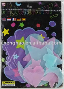 promotion gift sticker glowing stars