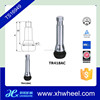 TR418AC Auto Tire Valve Stem , Tubeless Snap In Rubber Valve And Valve Cap