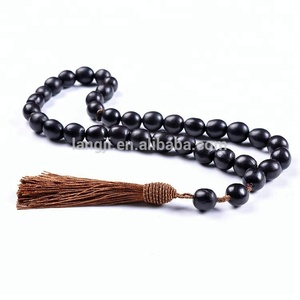 YS21 Unique products 2018 prayer necklace islamic bodhi seed beads