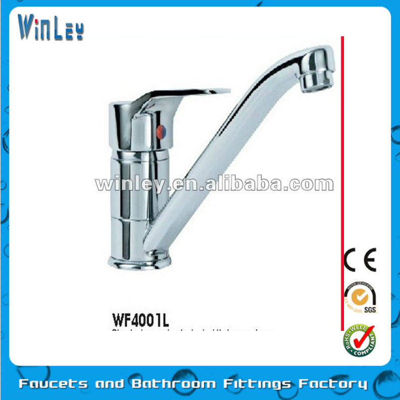 Kitchen Sink Mixer With Swivel Spout