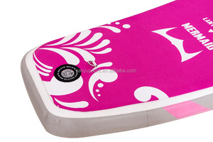 MERMAID pink color yoga sup surfing board