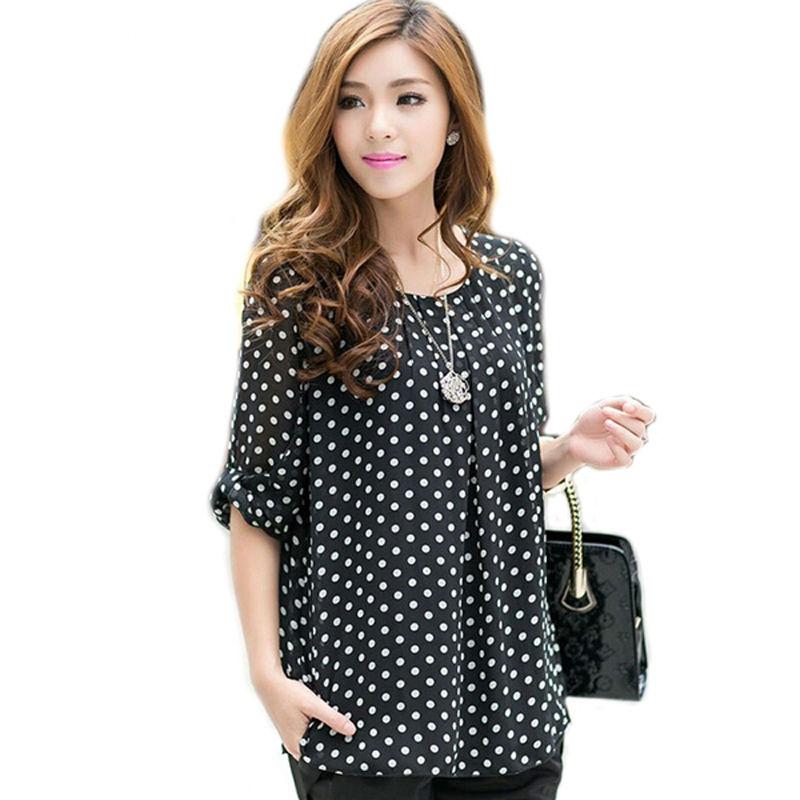 Aliexpress.com: Comprar Mujeres blusa de gasa mujeres