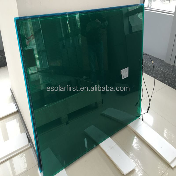 hot sale transparent solar thin film 90W Amorphous silicon solar PV mounting modules for BIPV high efficiency