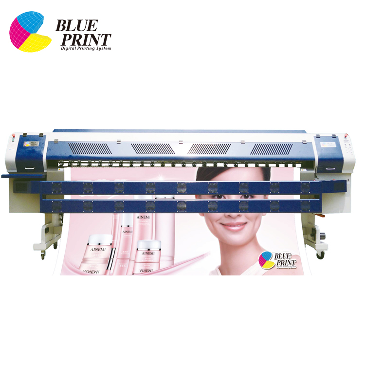 Wide format dual slider one way vision wall sticker printer
