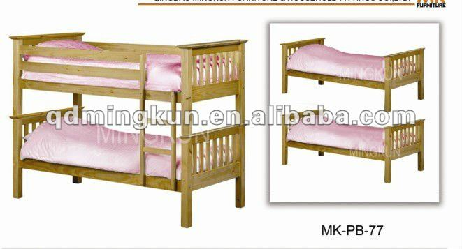 Camas literas de madera para ni os camas identificaci n - Literas para ninos pequenos ...