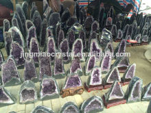2014 Hot Sale Natural Quartz Crystal Amethyst Geodes For Decoration