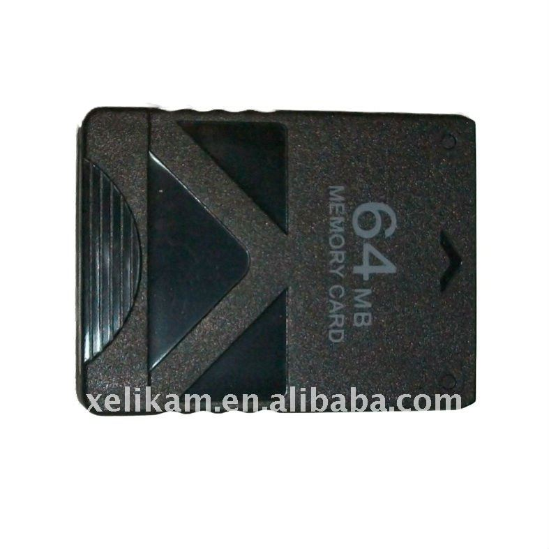 Game memory card for Sony playstation2 PS2 64MB memory card for playstation2 memory card