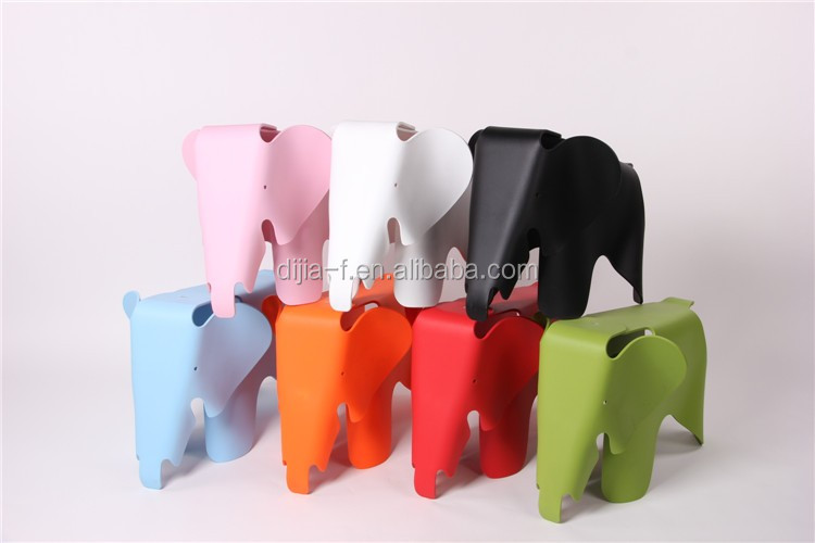 Colorful bambini mobili per bambini sedia sgabello di plastica