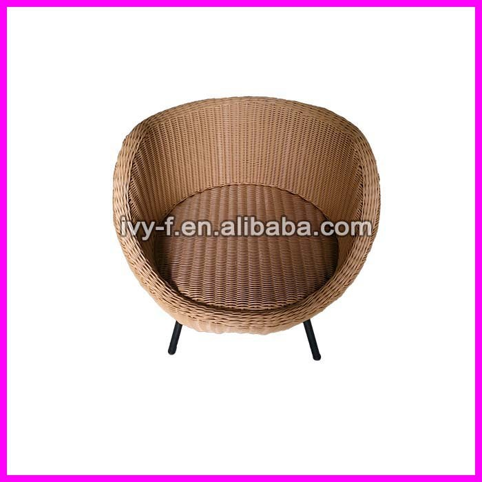 Exclusive Design Round Rattan Chair Egg Shaped Modern Style Patio Resin  Wicker Round Chair Honey Color In Aluminum Frame   Buy Rattan Egg Shaped  Chair ...