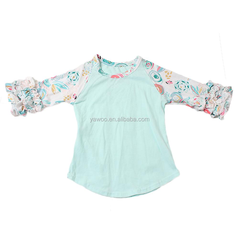 Yawoo novos padrões bonito irritar raglan camisa do bebê roupas de menina  recém-nascidos crianças 53eef18cf036f