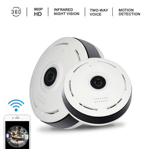 360 Degree Fisheye Panoramic IP Camera 1.3 Megapixel 960P Wireless Wifi 2.4GHZ Security Camera
