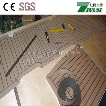 Soft Vinyl Floor For Boat Yacht On Alternative To Isiteek Flexiteek