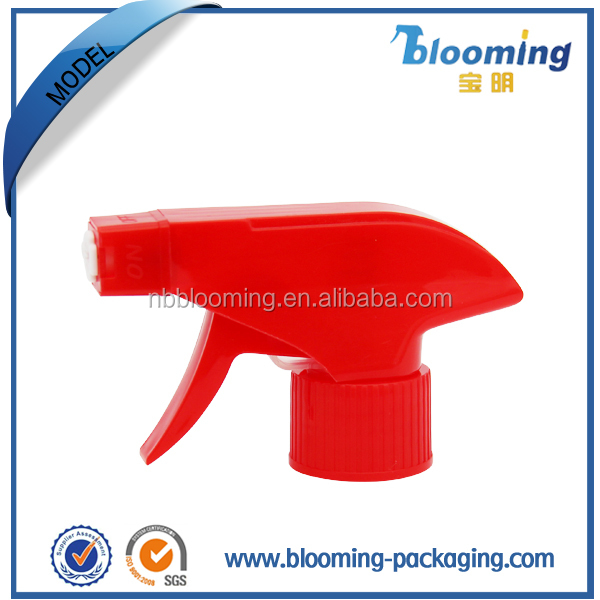 Plastic square foaming nozzle watering gun pump plastic trigger sprayers