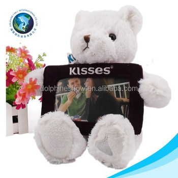 Christmas Gift Stuffed Soft Plush Teddy Bear Baby Picture 3d Photo ...