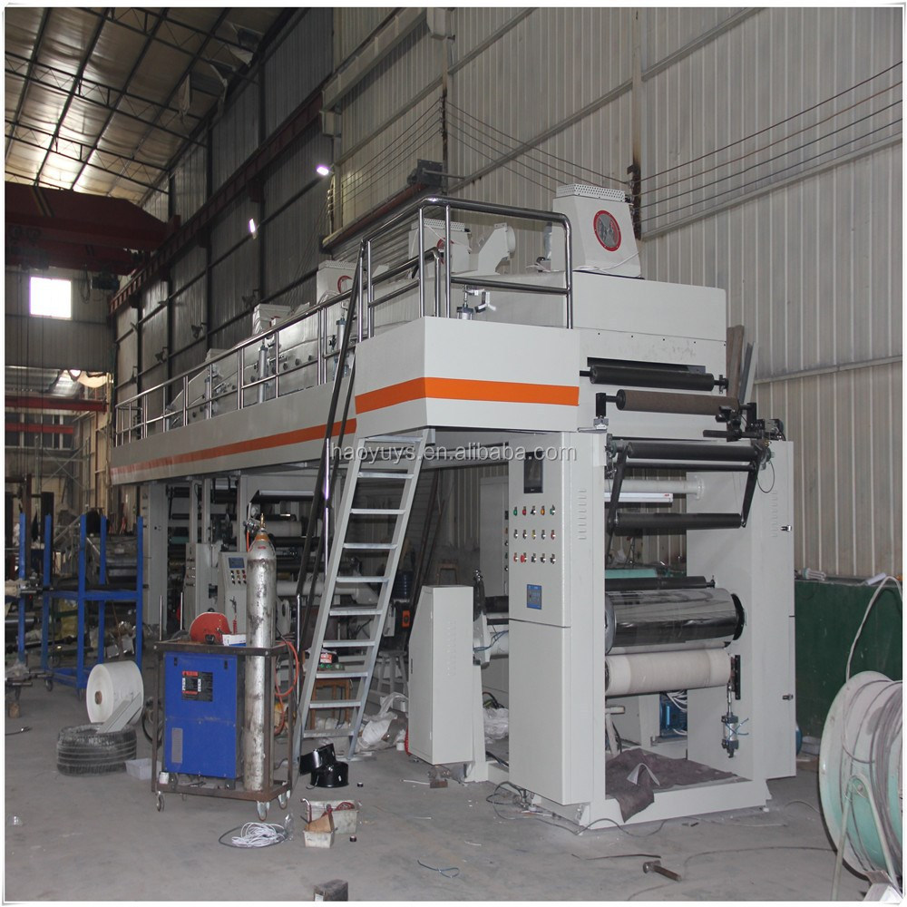 Automatische coating machine tinfoil coating machine automatische coating machine