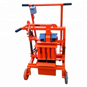 Construction moving egg laying block making machine on sale