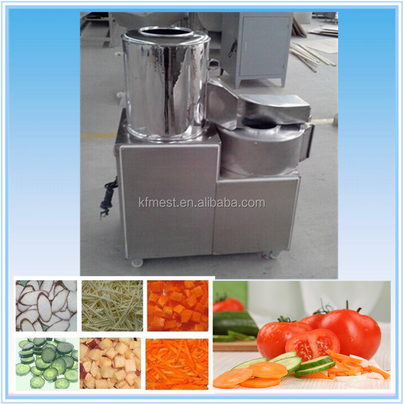 Wholesale Electric Shallot Slicer Fruit Vegetable Slicer / Vegetable Slicing Machine