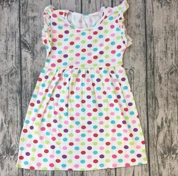 dc4c30b0c 2017 Little Kids Girls Cotton Summer Dresses Wholesale Frock Girls ...