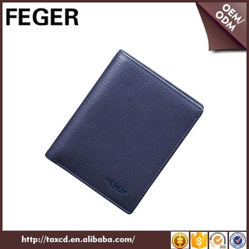 Good Quality Feger Branded Young Man Wallet Genuine Leather Wallet