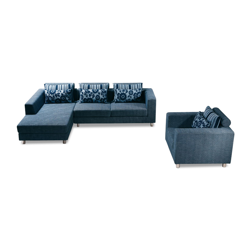 Manufacture turkish blue sofa furniture for sale