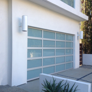 Insulated Aluminum Frosted Glass Side Hinged Garage Doors Buy Side